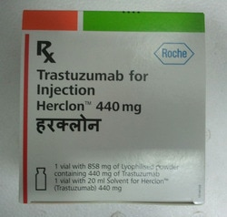 Minimum Order Quantity1 Piece Product TypeFinished Product DoseAdult: Initially, 4 mg/kg UsageCommercial, Clinical, Hospital, Personal, Pharmacy Drop Shipper & Medicine Drop Shipper Packaging Size440 mg x 1's Trastuzumab 150 mg and 440 mg powder for concentrate for solution for infusion. Antineoplastic agent, also used in Breast Cancer.  Our services are carried out in a highly cost effective manner with no middlemen involved in the delivery process.   It is on the World's Health organization's List of Essential Medicines, the most important medications needed in a basic health system.