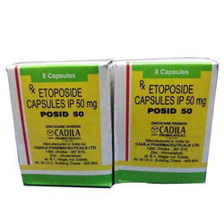 Minimum Order Quantity	5 Piece Packaging Size	Bottle of 8 capsules Dose/Strength	50 mg capsule Packaging Type	Bottle Posid 50 (Etoposide ) an anti-cancer agent, prescribed for lung cancer and testicular cancer. We assure quality of product of long expiration date and ship in discreet packing  Drug information on Posid (50 mg) (Etoposide) from Onco-care (Cadila Pharmaceuticals Ltd) ... Etoposide Drug Information. This medication is an anti-cancer agent, prescribed for lung cancer and testicular cancer.