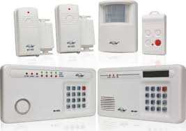 A security alarm is