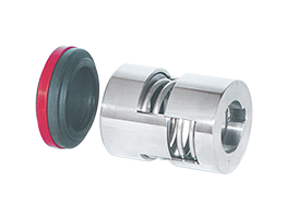 Single acting, unbalanced     Independent on direction of rotation     Straight spring seal     Inside mounted