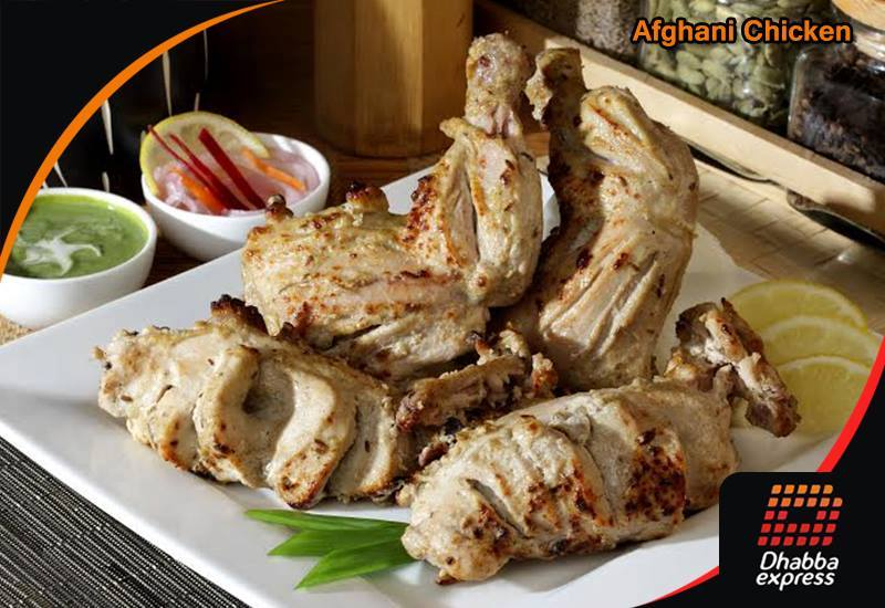 Dhabba Special PEPPER CHICKEN AFGHANI HALF