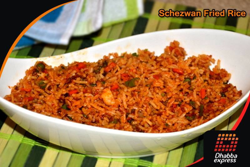 Dhabba Special SCHEZWUAN FRIED RICE VEG