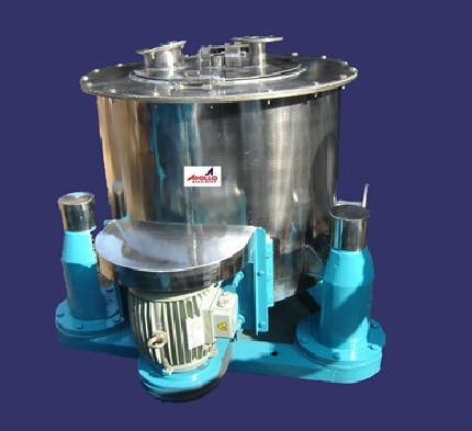 Leading Manufacturer of  verticle Basket Centrifuge from Ahmedabad. In order to maintain distinguish position in the industry,  We offer functionally advanced array of Basket Centrifuge.   Specifications:         Weight: 5000kg     Voltage: 220V     Product Type: Basket Centrifuge     Type: Centrifuge