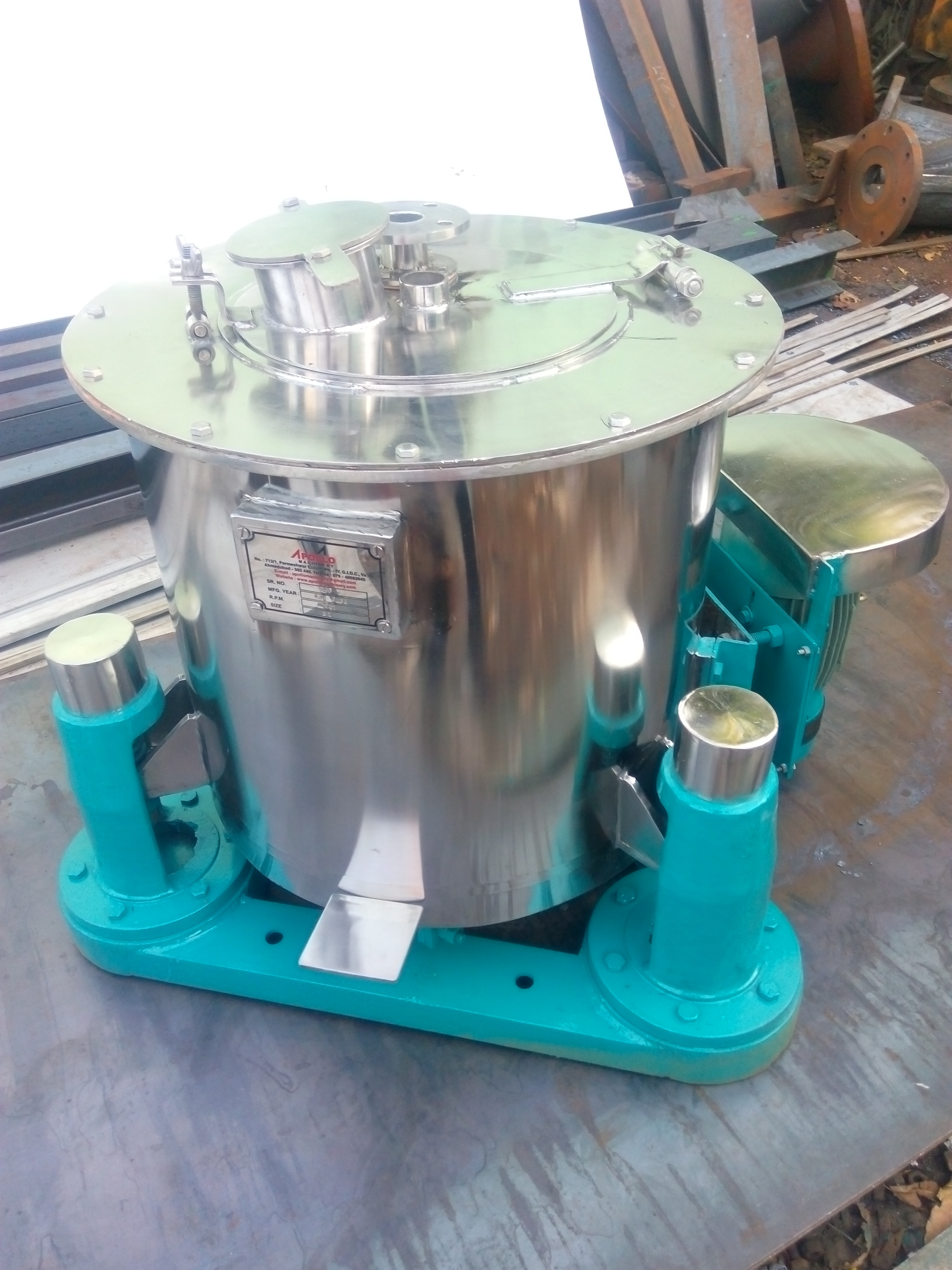We r wild rang of  Leading Manufacturer from Ahmedabad, we offer SS Centrifuge machine. we r provide complete GMP type Model