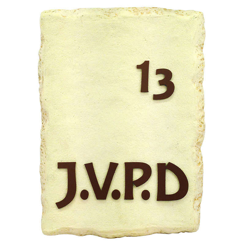 Stone Name Plate  Le