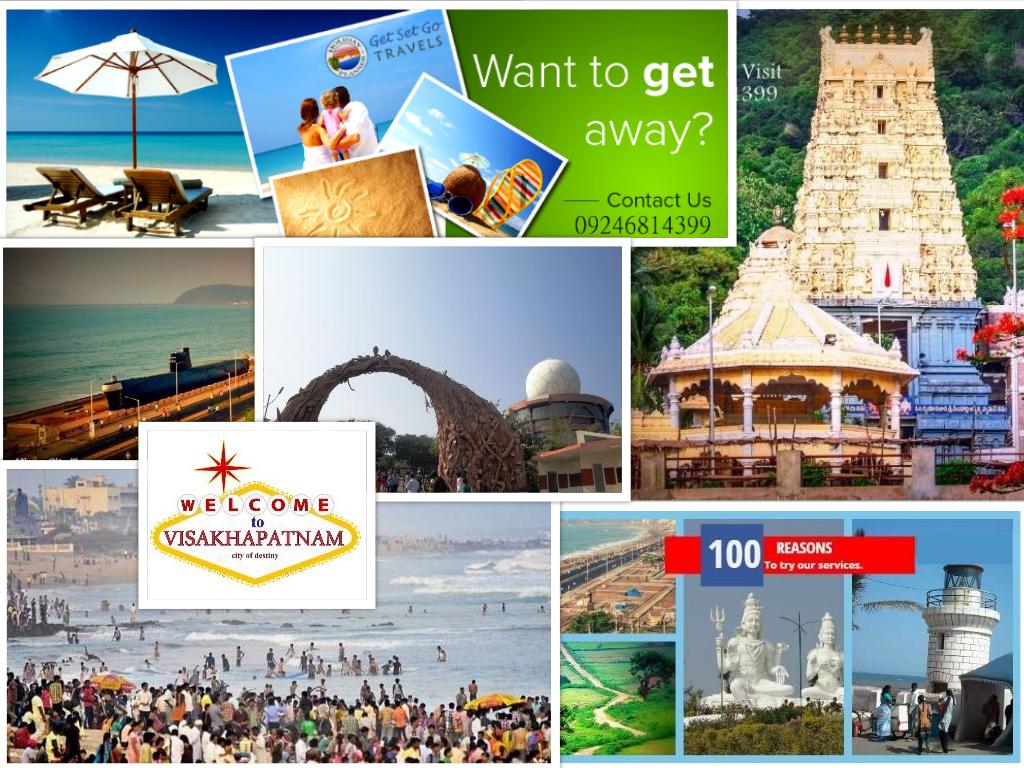 Itinerary: Vizag Cit