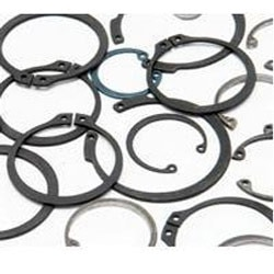 Among a number of reputed companies, our name is recognized as the foremost manufacturer and exporter of the Standard Internal Circlips. Suitable for different types of assemblies, these circlips retains the locking components in the bores. Our clients can get these circlips in different sizes and diameters to meet the clients' requirements. These Standard Internal Circlips are manufactured in confirmation with the industry standards