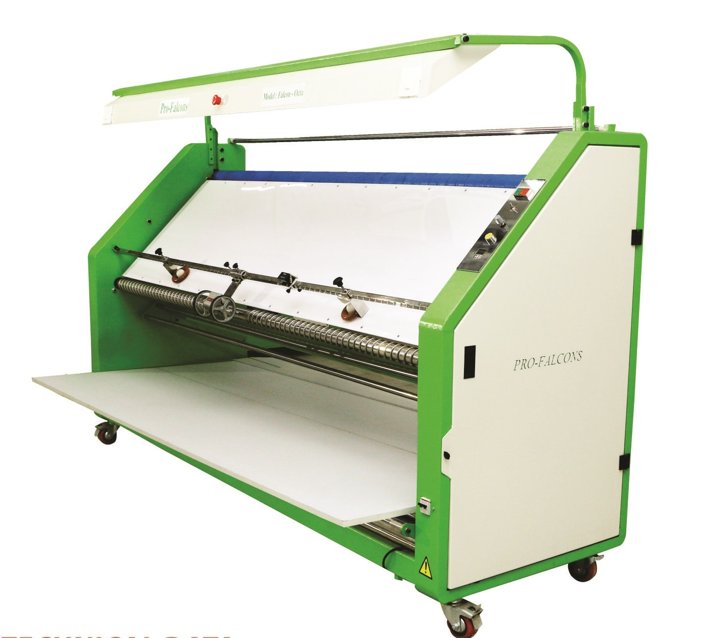 Knitted And Woven Fabric Inspection Machine