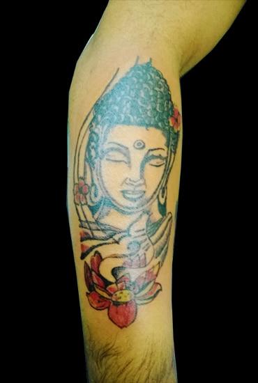 God Budda Tattoo