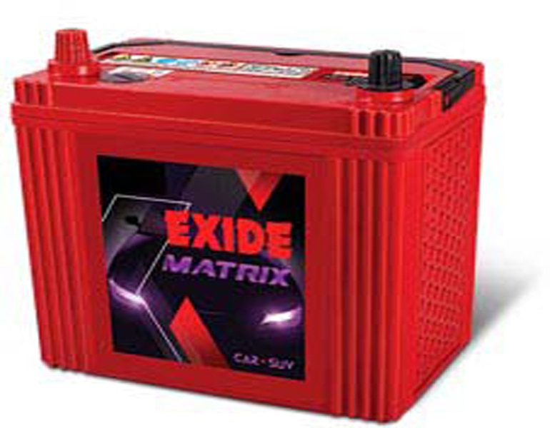 Exide Matrix - Four Wheeler Batteries- MT35LBH