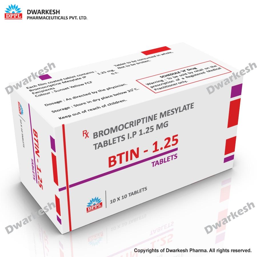 Bromocriptine Mesylate Tablets