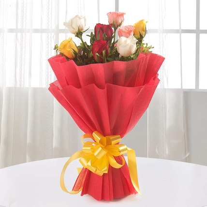 2 Red Rose 2 Yellow