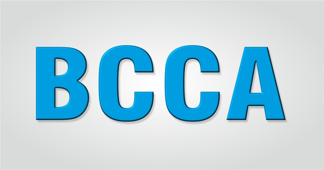 BCCA Course: - BCCA means Bachelor of computer Applications The Syllabus Contains i) English ii) Business communication iii) Principles of Business Management iv) Basic economics & Business Environment v) Financial Accounting Vi) Information System vii)Information Technology viii)Statistics & Quantitative Techniques ix)MIS & System Analysis x)E-Commerce & Web Designing xi)Computerized Accounting xii)Programming Skills xiii) Auditing xiv)Business Laws It is a three year course