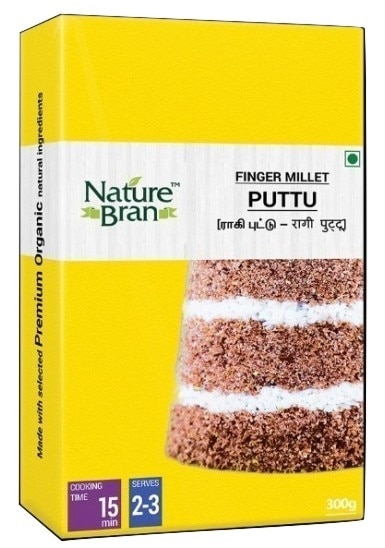 Nature Bran - Ragi (Finger Millet) Puttu, 300 Grams