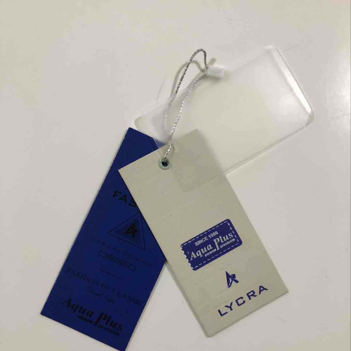 Garments paper tag are availab