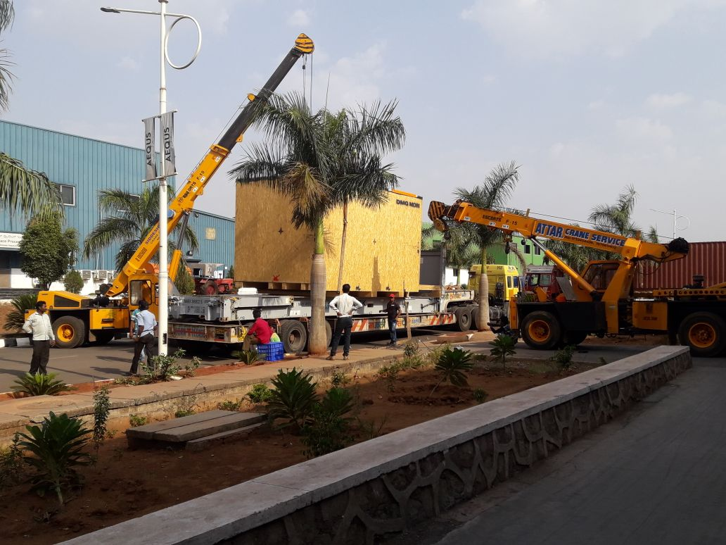 Attar Crane Service provides Heavy equipment lifting crane on rent and hire. Widely demanded by corporate bodies and Contractors, our services are known for their reliability, flexibility and planed execution on time.