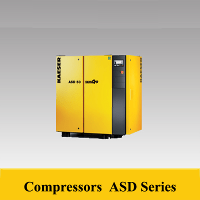Discerning compressed air users expect maximum availability and efficiency, even from smaller compressors. It will come as no surprise therefore that KAESER's SK series rotary screw compressors go far beyond meeting these key expectations. Not only do they deliver more compressed air for less power consumption, but they also combine ease of use and maintenance with exceptional versatility and environmentally responsible design  1.SIGMA PROFILE airend At the heart of every ASD system lies a premium quality airend featuring KAESER's SIGMA PROFILE rotors. Operating at low speed, KAESER's airends are equipped with fl ow-optimised rotors for superior effi ciency. .  2.Premium Efficiency (IE3) Motor The use of IE3 motors will become mandatory in the EU from 01.01.2015, but users can already enjoy the benefi ts that these premium effi ciency motors have to offer by choosing KAESER ASD series rotary screw compressors.  3.SIGMA CONTROL 2 The SIGMA CONTROL 2 ensures effi cient system control and monitoring. The large display and RFID reader provide effective communication and maximum security. Multiple interfaces offer exceptional fl exibility, whilst the SD card slot makes updates quick and easy.  4.Electronic Thermo Management The innovative Electronic Thermo Management (ETM) system dynamically controls fl uid temperature to inhibit condensate accumulation. It also boosts effi ciency by preventing unnecessarily high airend discharge temperatures with cooler intake temperatures.  5.Low speed operation Large, low speed airends are more efficient than small high speed airends because they supply more air for the same drive power. Low speeds mean less wear and consequently less maintenance costs.  6.Energy-saving 1:1 drive The motor and airend are joined by the coupling and its housing to form a compact and durable unit that is virtually maintenance-free. Furthermore reliability and service life are increased through elimination of wear and transmission losses, as 1:1 drive reduces the number of components needed in comparison with gear drive.  FOR MORE DETAIL  https://goo.gl/66VoQ1