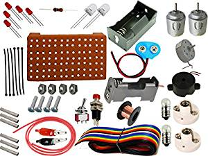The Curious Brain Experimental Electric Activity Kit 2 (Loose Parts)