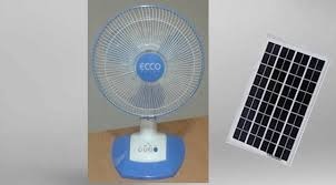Solar fan charges  i