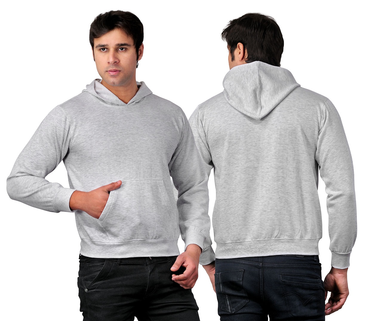 Hoodie's is a type of sweatshirt with a hood or a cap attached with it, at the backside, We Present Fashionable Hoodies In Most Available Color's i.e Black, Grey, Charcoal Grey,Navy Blue Color's  For More Details Contact Us And Our Office Located In HSR Layout Bangalore