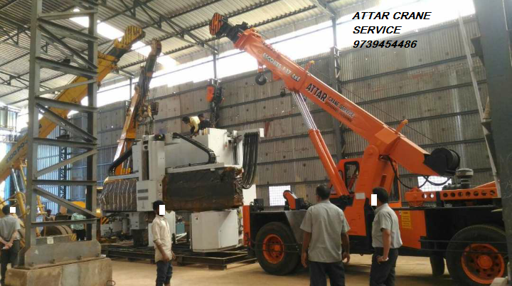 We provide all heavy machinery loading and unloading works, for more details please call us.