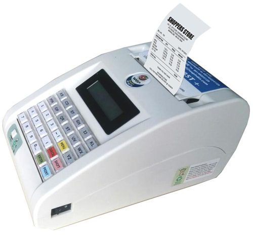 General Specifications  :  CPU - ARM CORTEX M3 , 60 MHz Printer head -Thermal Paper width - 80mm Printing speed - 50mm / sec. Approx. 8line/s Display, Keyboard  - 16x2 Character Display, 30keys No of lines in Header & Footer - 5 lines each Interface - RS232, USB-2.0 Power supply - 150-270V 50Hz / Internal Battery 7.4V/2200mAh PLU  - 2,000max Memory billing - Yes Stock management - Yes
