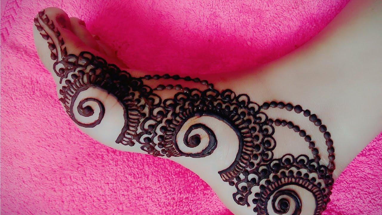 New Feet Mehndi Designs : Buy leg mehandi design in new delhi india from anuj