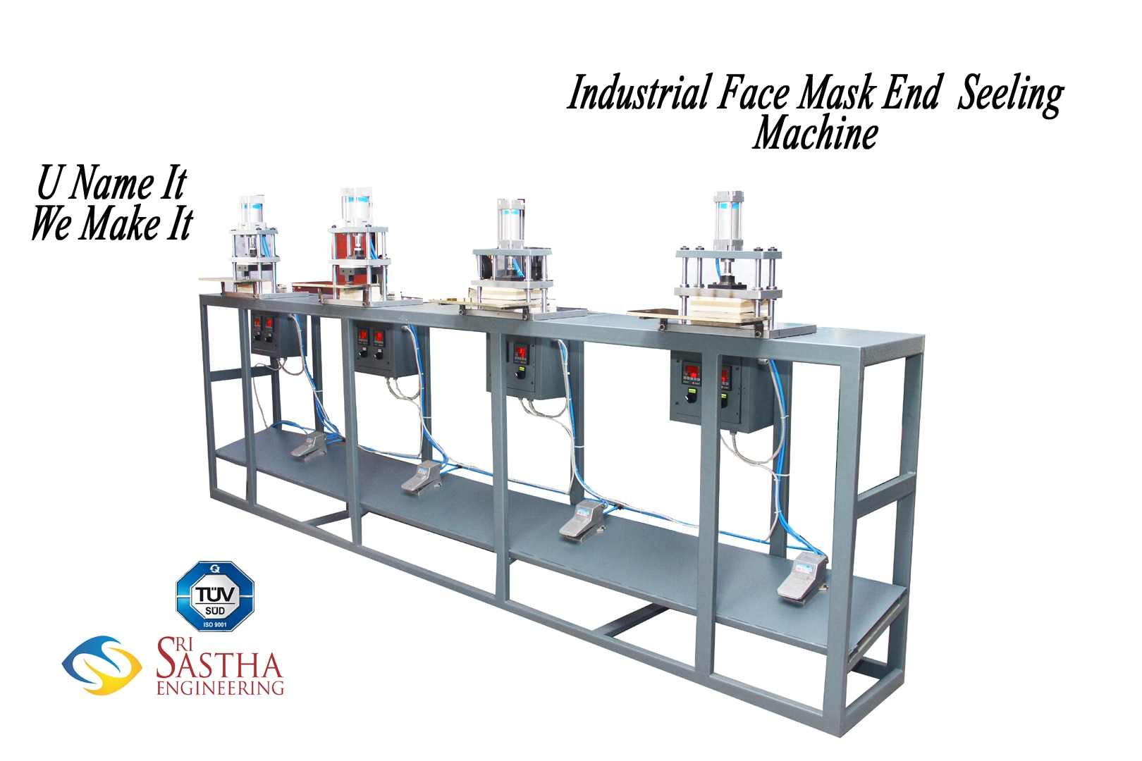 Industrial Face Mask Sealing Machine -Sri Sastha Engineering