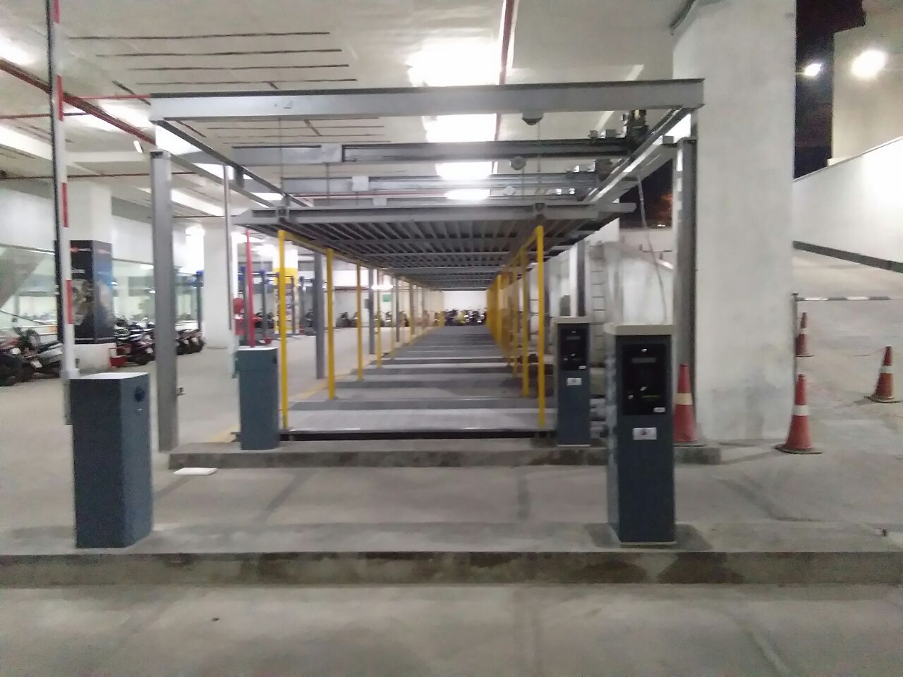 Parking systems can
