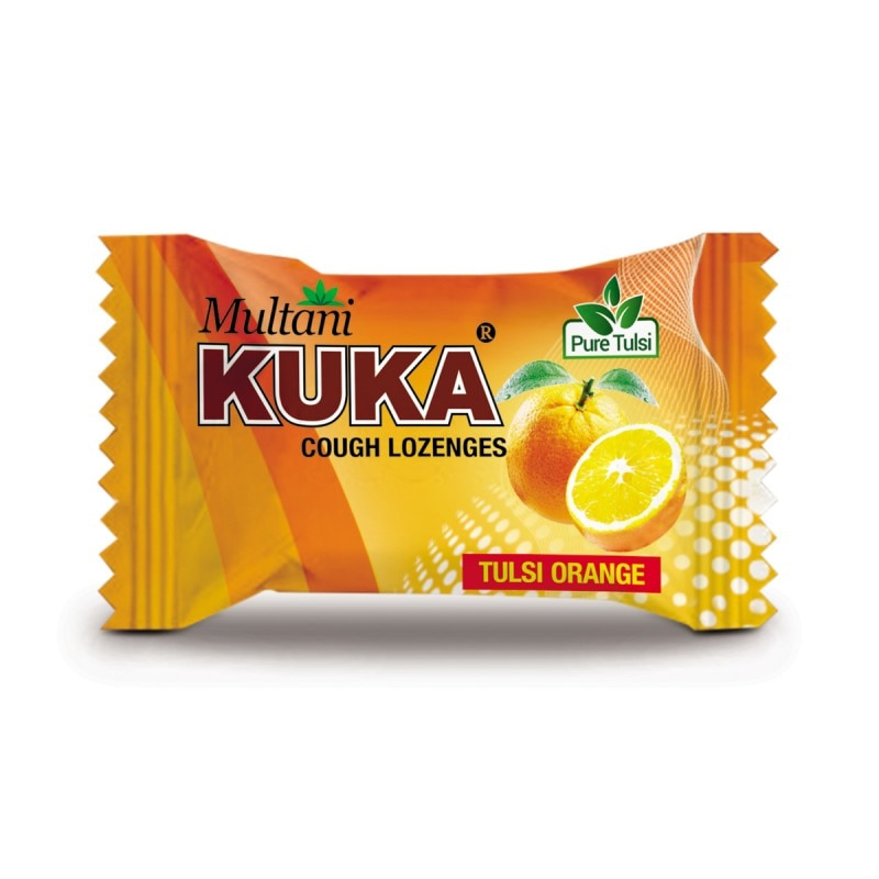 Kuka Cough Lozenges (Tulsi Orange)