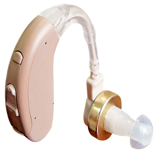 A digital hearing aid is a hearing aid device that receives sound and digitizes it (breaks sound waves up into very small, discrete units) prior to amplification.