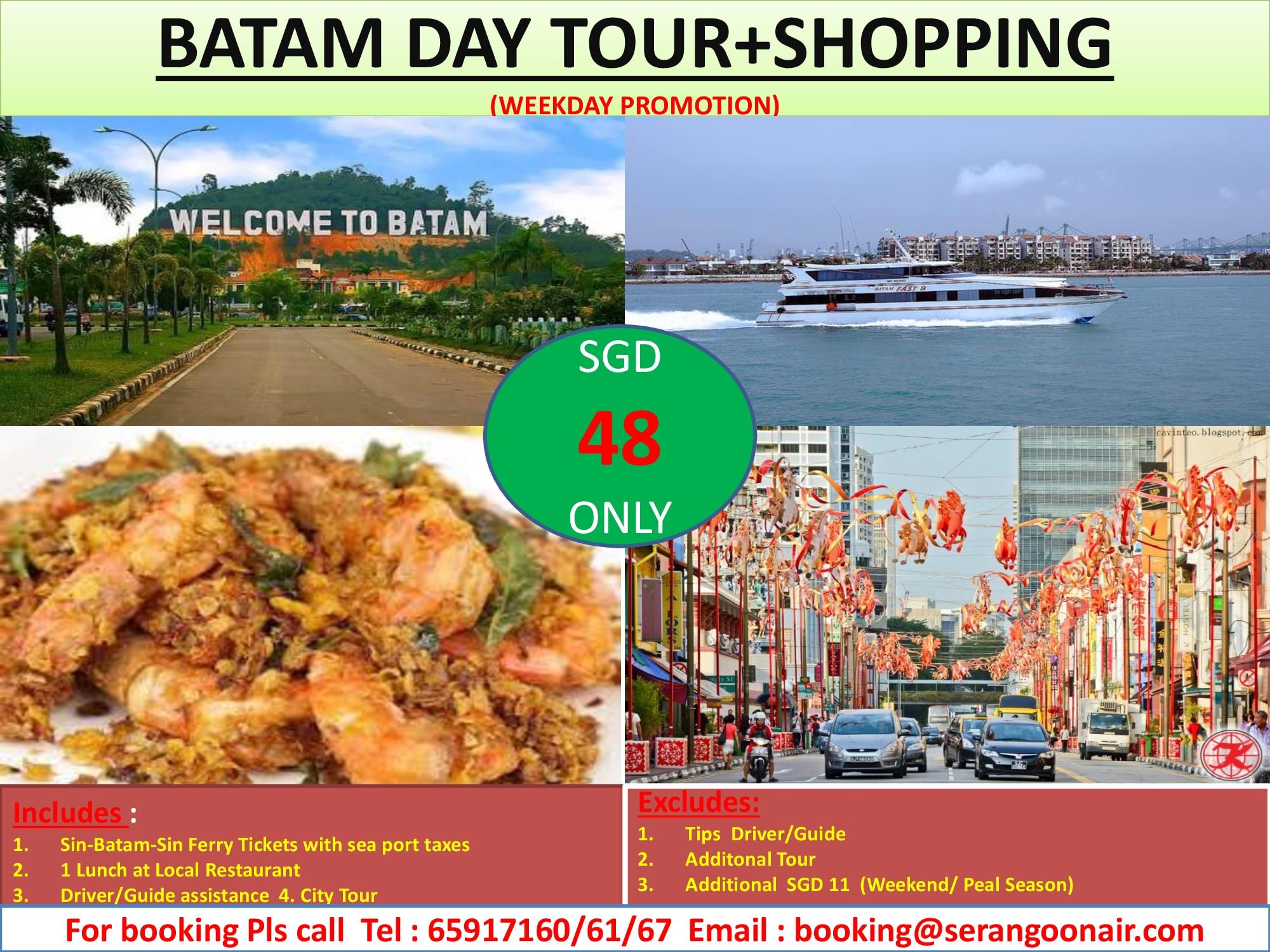 BATAM DAY TOUR PROMO