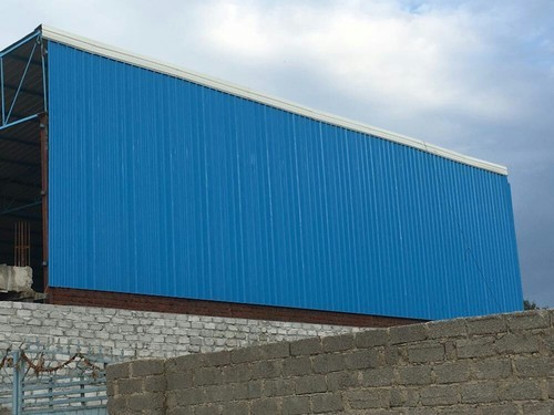 Product Details: Brand	Jsw Built Type	Modular Design	Asper drawing Feature	Easily Assembled Material	Steel Shape	Any Type of Industrial Sheds	Light We are the most trusted name amongst the topmost companies in this business, instrumental in offering a high-quality array of Iron Shed.