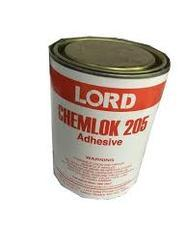 LORD Chemlok® 205 primer is designed for use under Chemlok covercoat adhesives to bond a wide variety of vulcanized and unvulcanized rubber compounds to metals and other rigid substrates. It is composed of a mixture of polymers, organic compounds and mineral fillers dissolved or dispersed in an organic solvent system.  Shelf Life  Shelf life is one year from date of shipment when stored at 21-27°C (70-80°F) in original, unopened container.  Features and Benefits  Versatile – can be used as a primer under a wide variety of Chemlok covercoat adhesives such as the Chemlok 220 series, Chemlok 230 series, Chemlok 250 series or Chemlok 6000 series adhesives.  Easy to Apply – applies easily by brush, dip, spray or roll coat methods; suitable for existing production lines.  Durable – provides rubber tearing bonds and excellent environmental resistance when used in combination with Chemlok covercoat adhesives.  Convenient – can be used as a one-coat adhesive to bond some nitrile rubber compounds to rigid substrates during vulcanization.