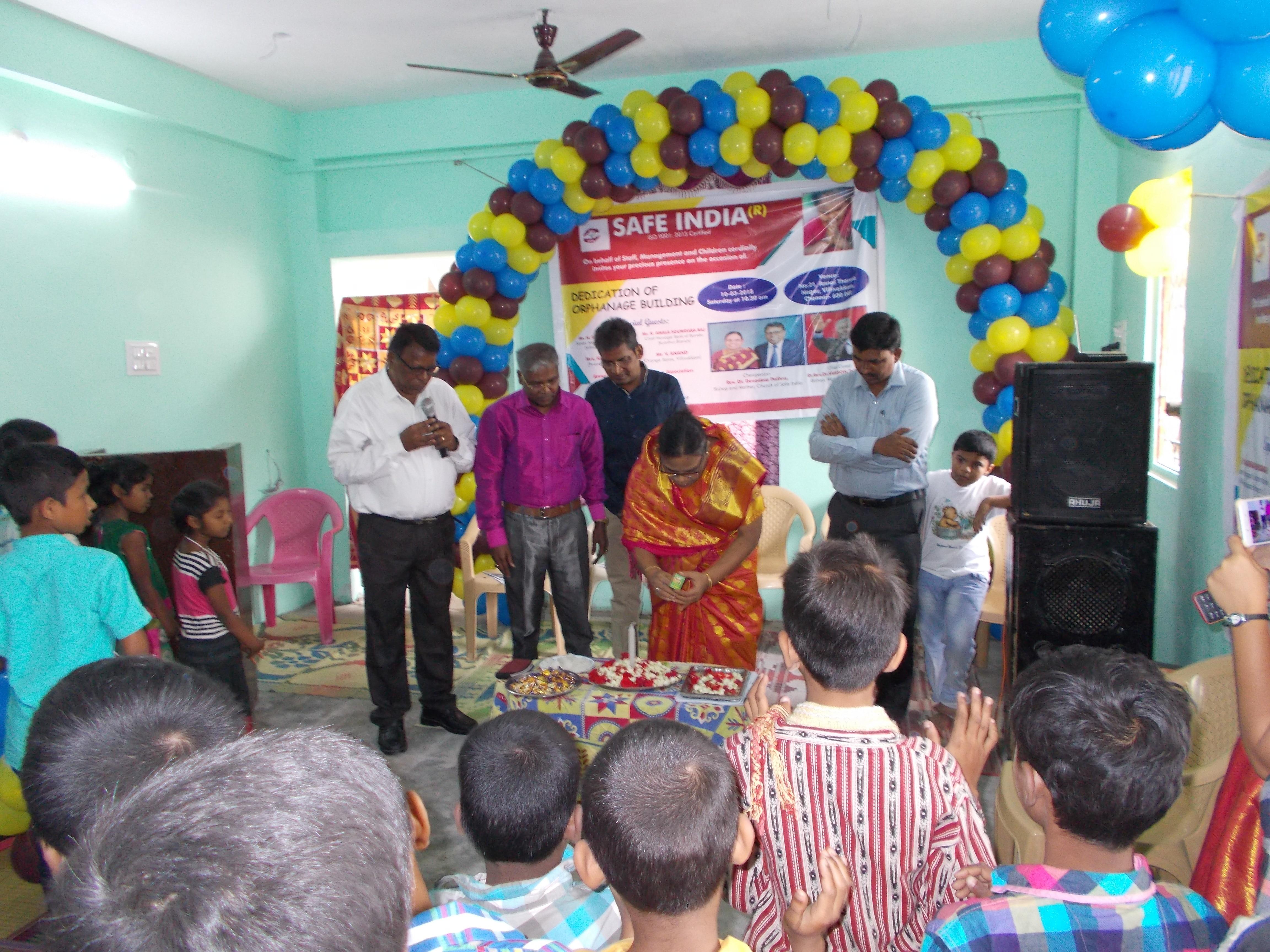 Safe India orphanage
