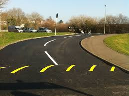 Hot Melt Road Marking Compound for Roads, Highways, and container yards require lane marking with retro-reflective properties for better visibility at night. Sigmark with drop-on glass beads is an ideal choice for both Bituminous roads and for Concrete roads, and applied at a thickness of 2.5mm as per MOST/ BS specification; they are put in to service within 30 minutes of laying the product on roads. Specific formulations as water based cold applied with drop-on glass beads are available for better visibility, wear resistance, skid resistance and high dirt pick-up resistance matching the AAI specification.  We are leading Supplier, Dealer and Distributor of Signage Marking Paints in Vadodara, Gujarat, India.