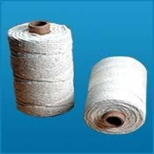 Commercial yarn is used to insulate warm water pipelines