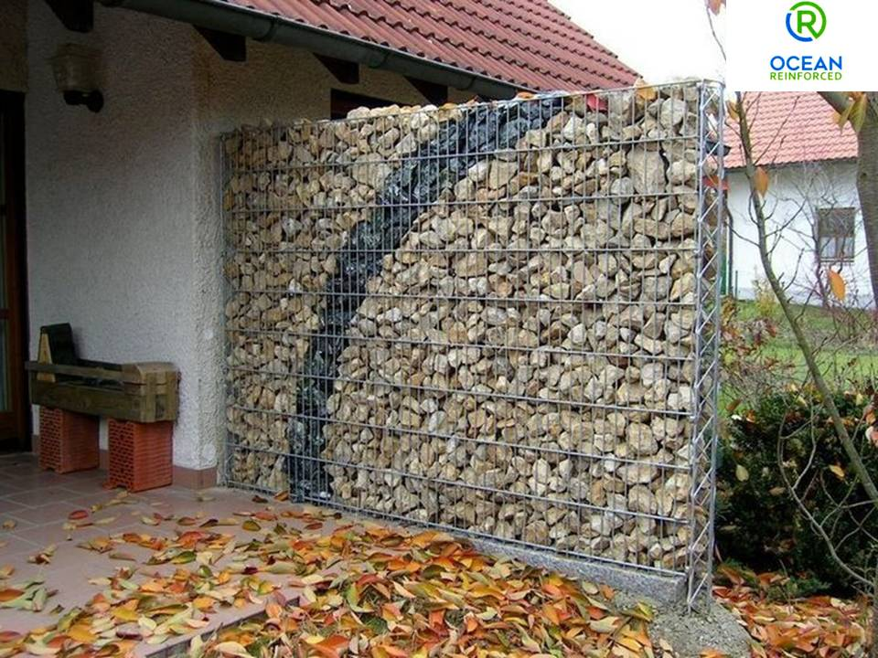 A Gabion is a cage,