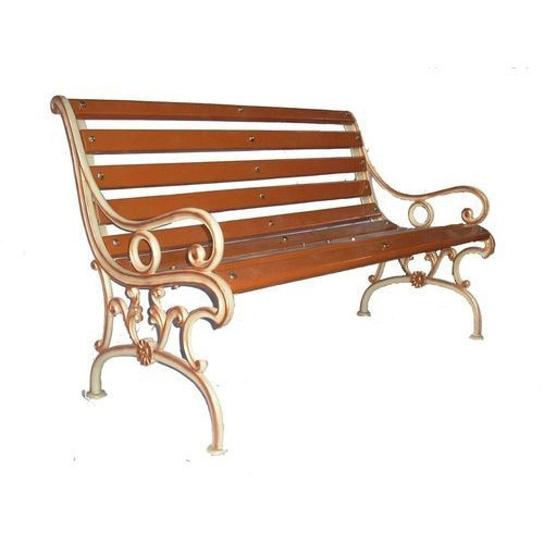 Being one of the trusted organizations in the market, we are engaged in providing a wide range of 3 Seater Garden Bench.     Features:  • Elegant design • Flawless finish • Excellent durability    Other details:  • Seat: 3 • Application: Garden