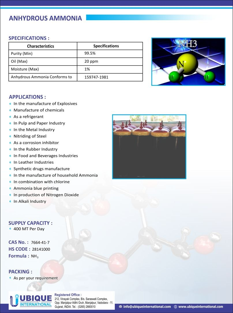 Anhydrous Ammonia