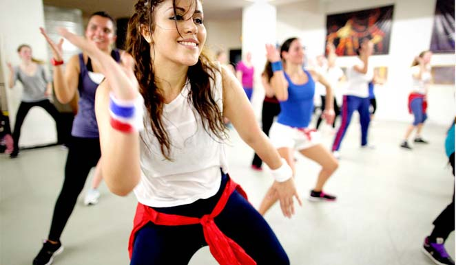 We have a well trained and a well experienced zumba trainer. Zumba provides you with cardio workout and strength training. The dance moves are designed to enhance flexibility of your body.