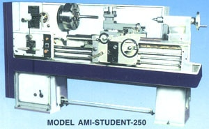 All Geared Lathe Model Ami-Student-250-200