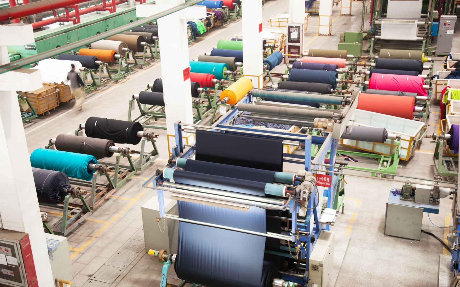 The textile indust