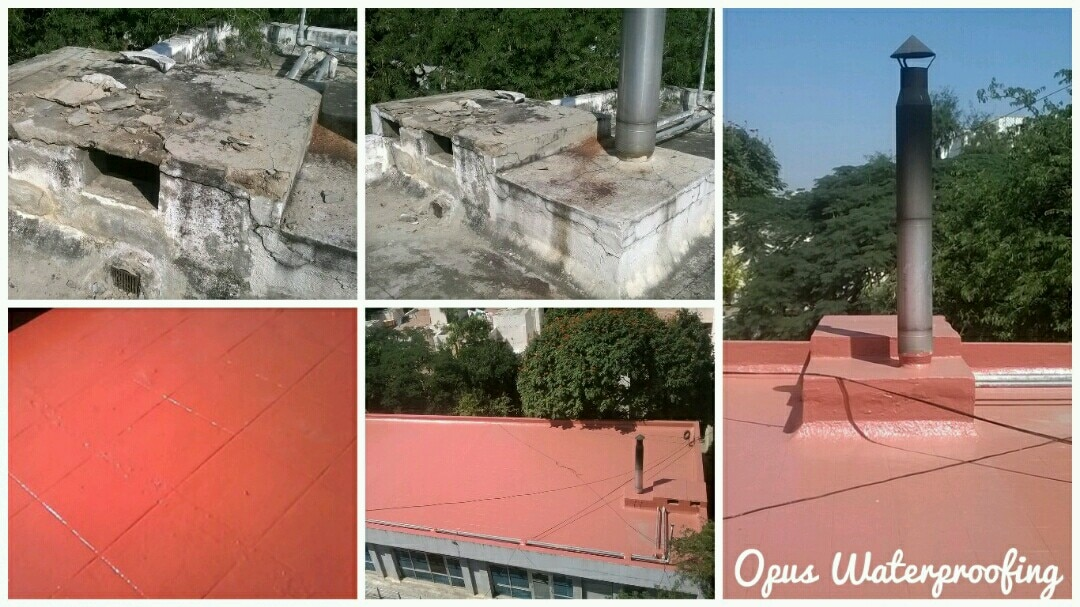 Repair and maintenance of existing roof