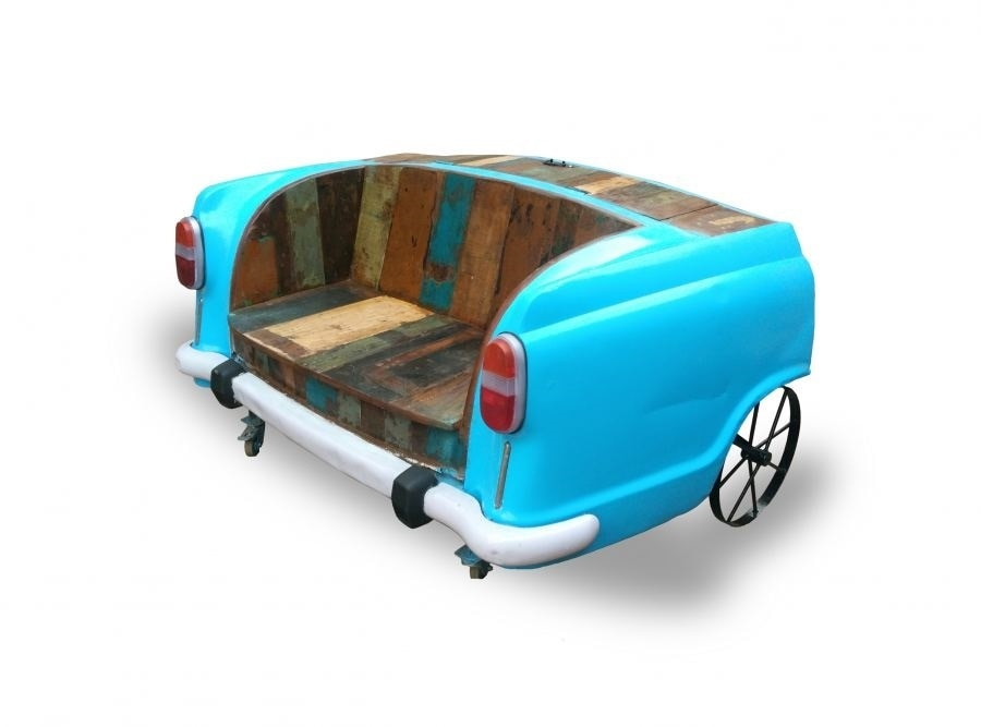 Car Sofa With Recycle Wood 2108 Designs