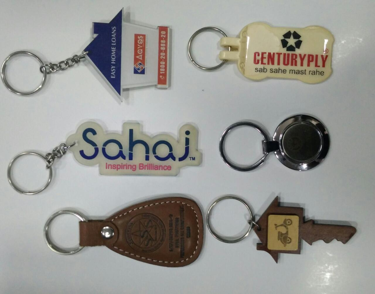 These key chains are