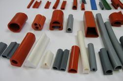 We are offering wide range Extruded Rubber Profiles to our clients which have earned us loads of appreciation in the market due to their applicability in varied industrial sectors.