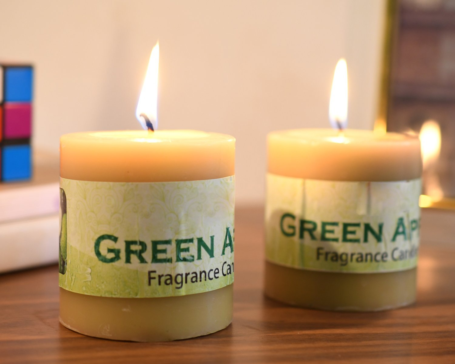 Green apple scented