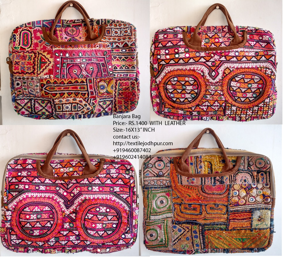Laptop bag Vintage Banjara boho Bohemian mirror work Indian side bags  handmade designer bag celebrity bag happy bag Gypsy bag WHOLESALE 0cc544d83d457