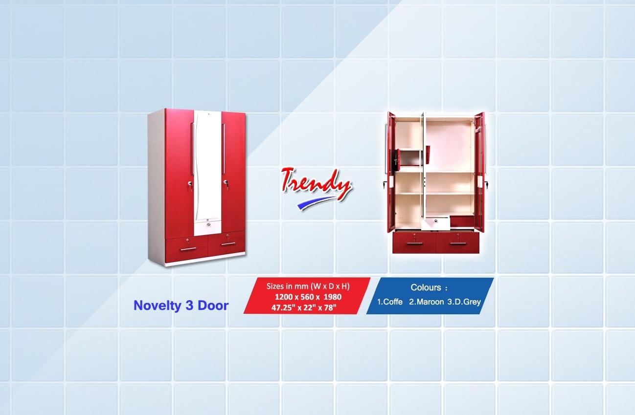 Novelty 3 door •  Ad